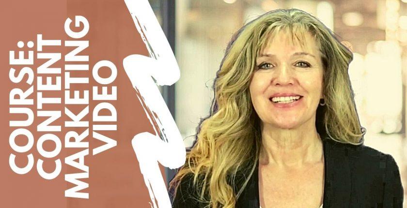 online live course content marketing video